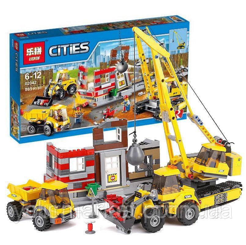 Конструктор Lepin 02042 (аналог Lego City 60076)
