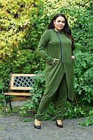 Костюм демисезонный для пышных женщин, с 48 по 82 размер, фото 1