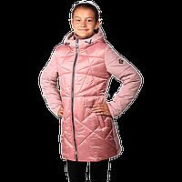 Демисезонная стильная куртка для девочек с капюшоном Украина
