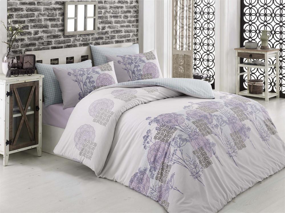 Комплект постельного белья Majoli Sayanora v1 двуспальный евро
