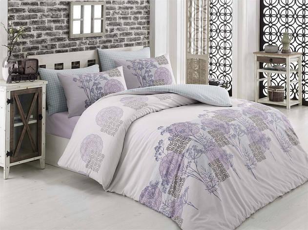 Комплект постельного белья Majoli Sayanora v1 двуспальный евро, фото 2