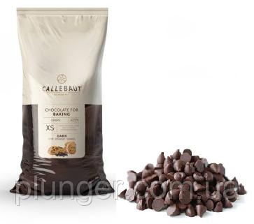 Натуральные термостабильные капли,дропси из черного шоколада, Callebaut, Бельгия (цена за 100 г)