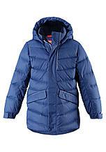 Зимняя куртка пуховик для мальчика Reima 531371-6790. Размеры 104-164.