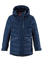 Зимняя куртка пуховик для мальчика Reima 531371-6980. Размеры 104-164., фото 1