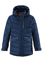 Зимняя куртка пуховик для мальчика Reima 531371-6980. Размеры 104-164.