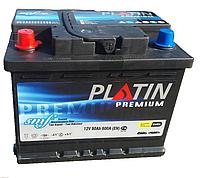 Автомобильный аккумулятор PLATIN Premium 6CT- 60Aз 600A L SMF