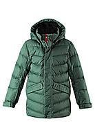 Зимняя куртка пуховик для мальчика Reima 531371-8630. Размеры 104-164., фото 1