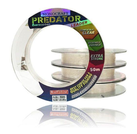 Флюорокарбон BratFishing Predator 50м 0,35мм
