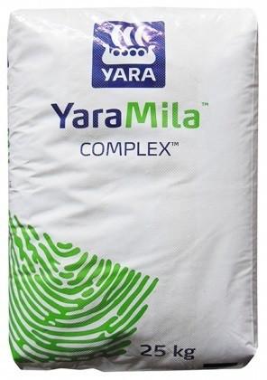 Удобрение гранулированное YaraMila Complex 12-11-18 + 2,7 MgO + 20 S + micro, 25 кг, Yara