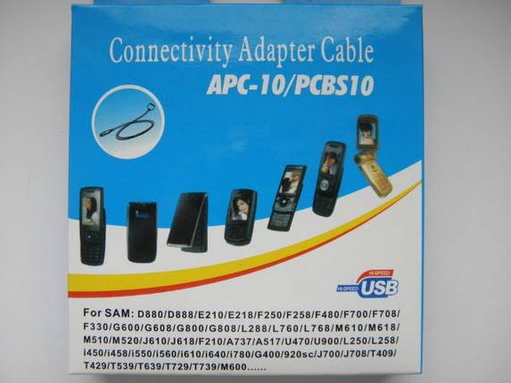USB кабель samsung pcbs 10 Duos d880, s5230, e210, фото 2