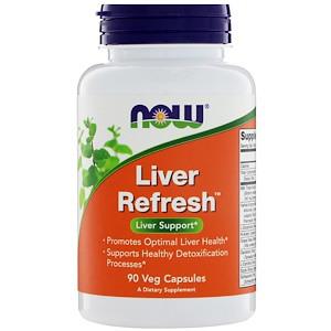 Оновлення печінки - Лівер Рифреш / NOW - Liver Refresh (90 caps)