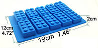 Лего форма силикон для мастики и шоколада, фото 1