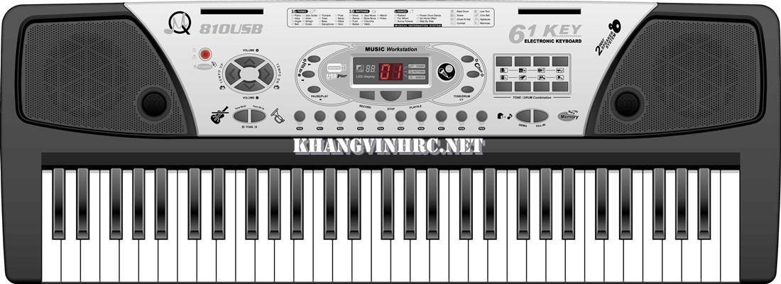 Детский обучающий синтезатор MQ-810 USB