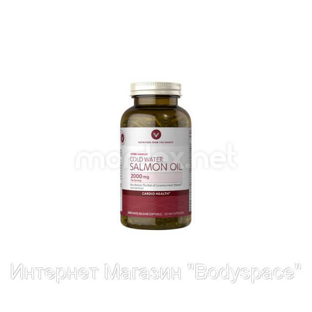 Vitamin World, Масло лосося Salmon Oil 2000 мг, 240 капсул