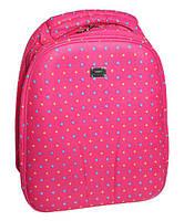 Рюкзак школьный каркасный Fantasy World Сердечки Розовый (160506-PINK)