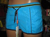 Шорты женские из плащевки норма с надписью EXTRIME сзади