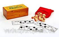 Лото деревянной коробке 8807