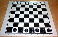Набор шашек с игральной доской размер: 27 x 27 см.CH001