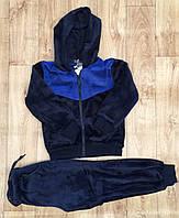 Велюровые костюмы-двойка для мальчика оптом, S&D, 134-164 рр., арт. CH-5327
