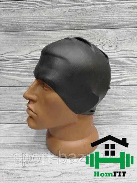 Шапочка для плавания Grilonq черная