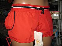 Шорты женские из плащевки норма сбоку карман