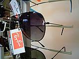 Очки Ray-Ban Aviator Polaroid черные, стальная оправа, фото 2