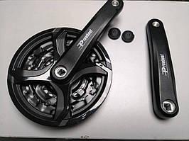 Комплект шатунов PROWHEEL MC-A126 42/32/22T 170mm