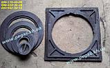 Плита пічна чавунна 410х410 мм. барбекю, казан, мангал, грубу, фото 3
