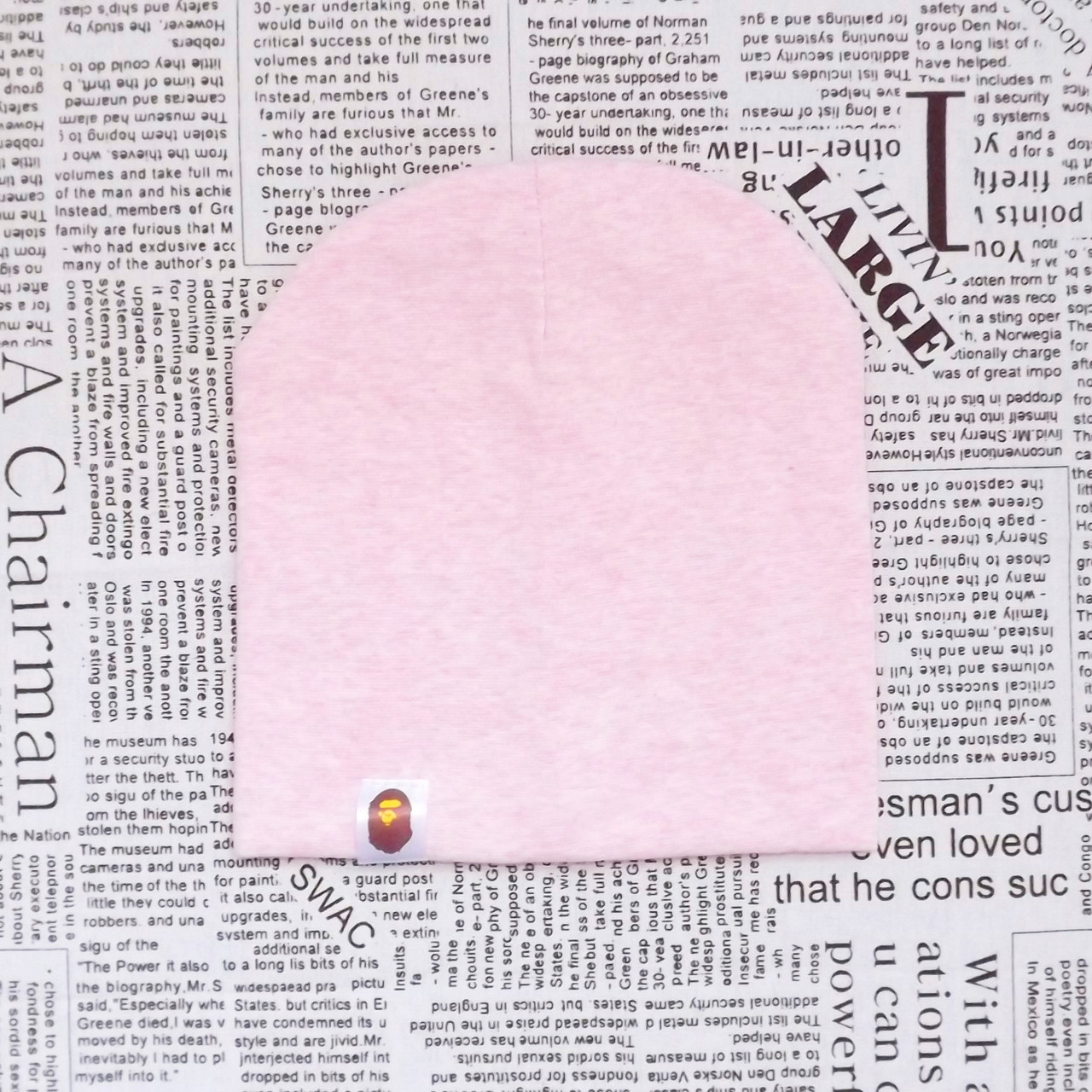 Шапка для детей  Варе розовая меланж