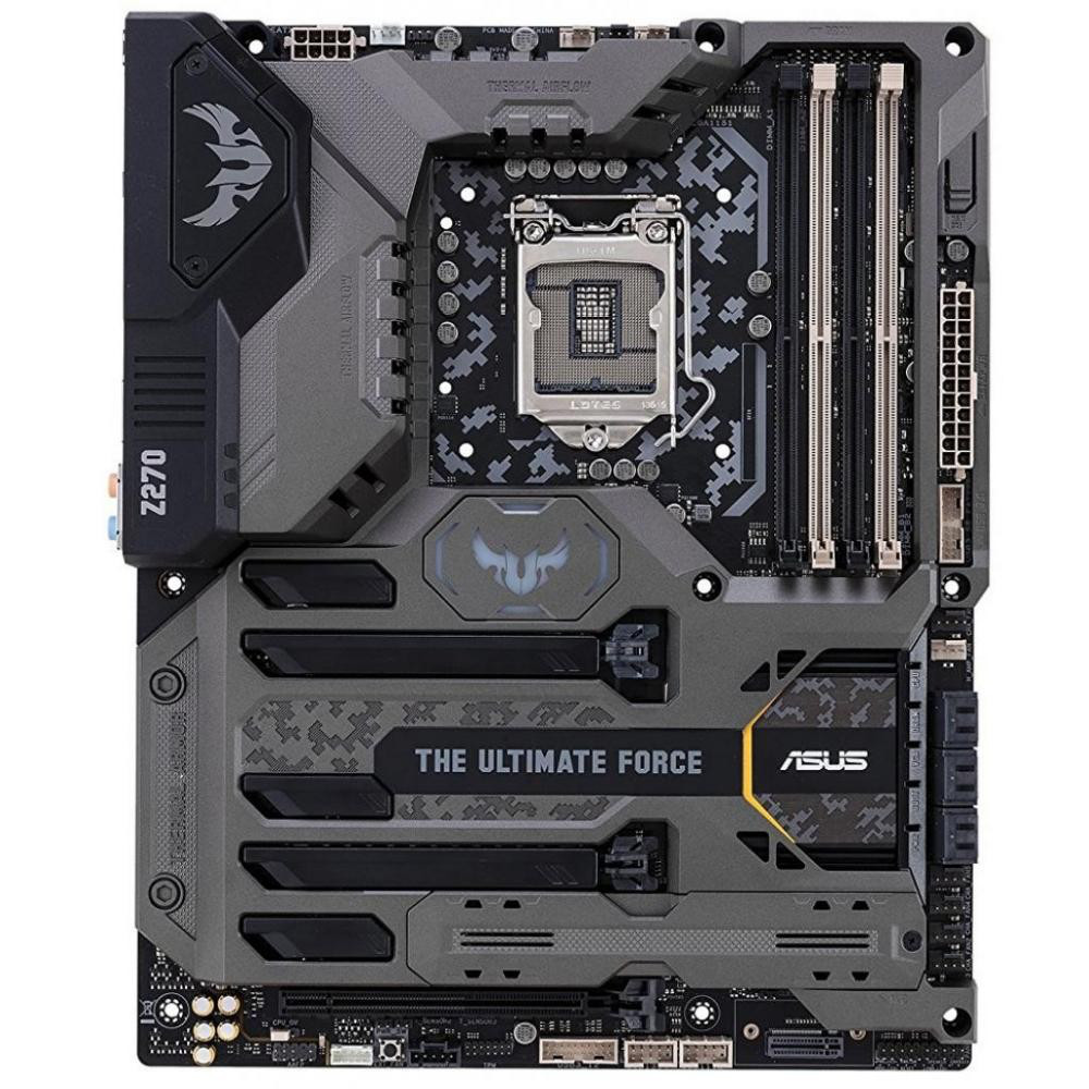 "Материнская плата Asus Z270TUF Mark 1 s1151 DDR4 ""Over-tock"" Б/У"