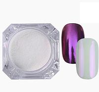 Зеркальный блеск для втирки  ( фиолетовый)
