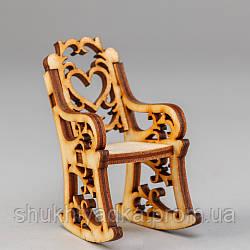 """Мебель для кукол """"Кресло-качалка""""_"""