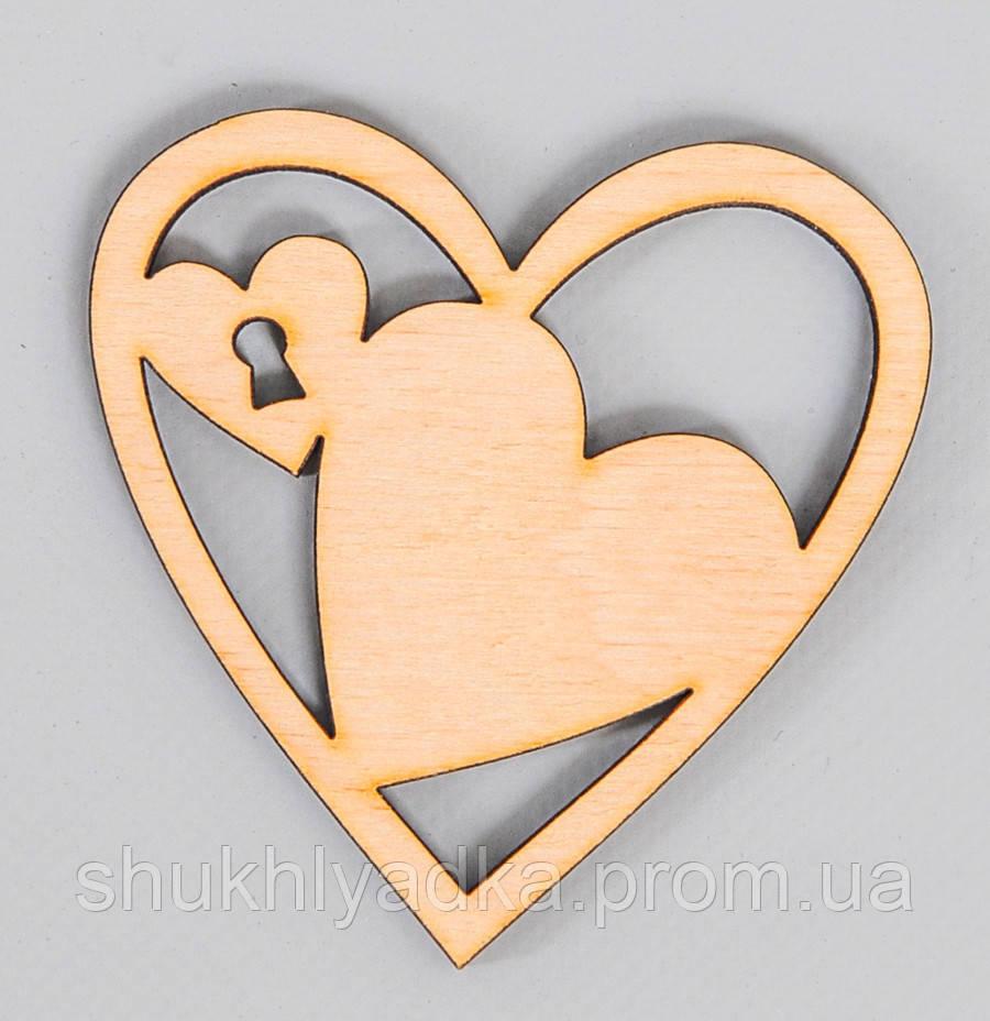 Сердце_замочек_для украшения подарков