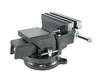 Тиски слесарные Polax поворотные 100 мм (25-099)