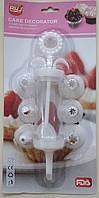 Кондитерский шприц  с насадками YR1826-1 арт. 822-7-34