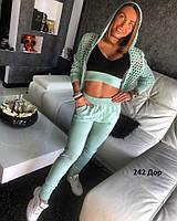 Спортивный женский костюм 242 Дор Код:697530504, фото 1