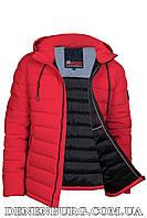 Куртка еврозима мужская ZERO FROZEN ZF70017 красная, фото 1