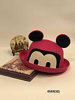 Летняя  детская шляпка с ушками 0583(32) Код:718709167, фото 1