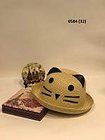 Детская шляпка с ушками 0584 (32) Код:718651190, фото 1