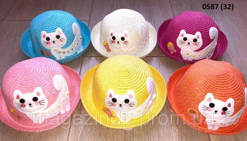Летняя  детская шляпка 0587 (32) Код:718640155