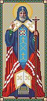 Схема для вышивки бисером Святитель Митрофан Воронежский