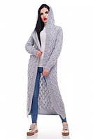 Жіночий в'язаний кардиган-пальто в 11ті кольорах LIKA