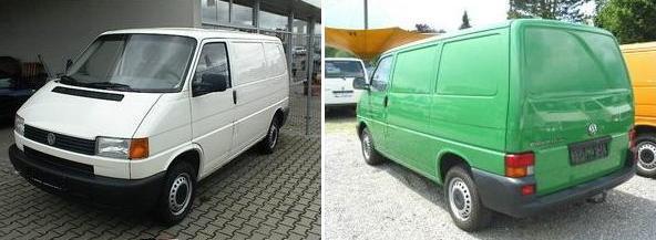 VWT4 90-03 (кроме CARAVELLE 96-)