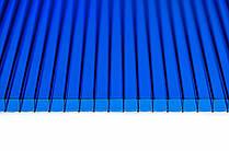 Поликарбонат STANDART PLASTIK синий  6000х2100х6мм. Код УКТ ЗЕД 3920610000