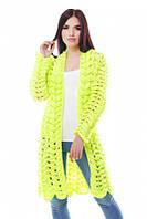 Модний жіночий в'язаний кардиган в 5 кольорах ADEL