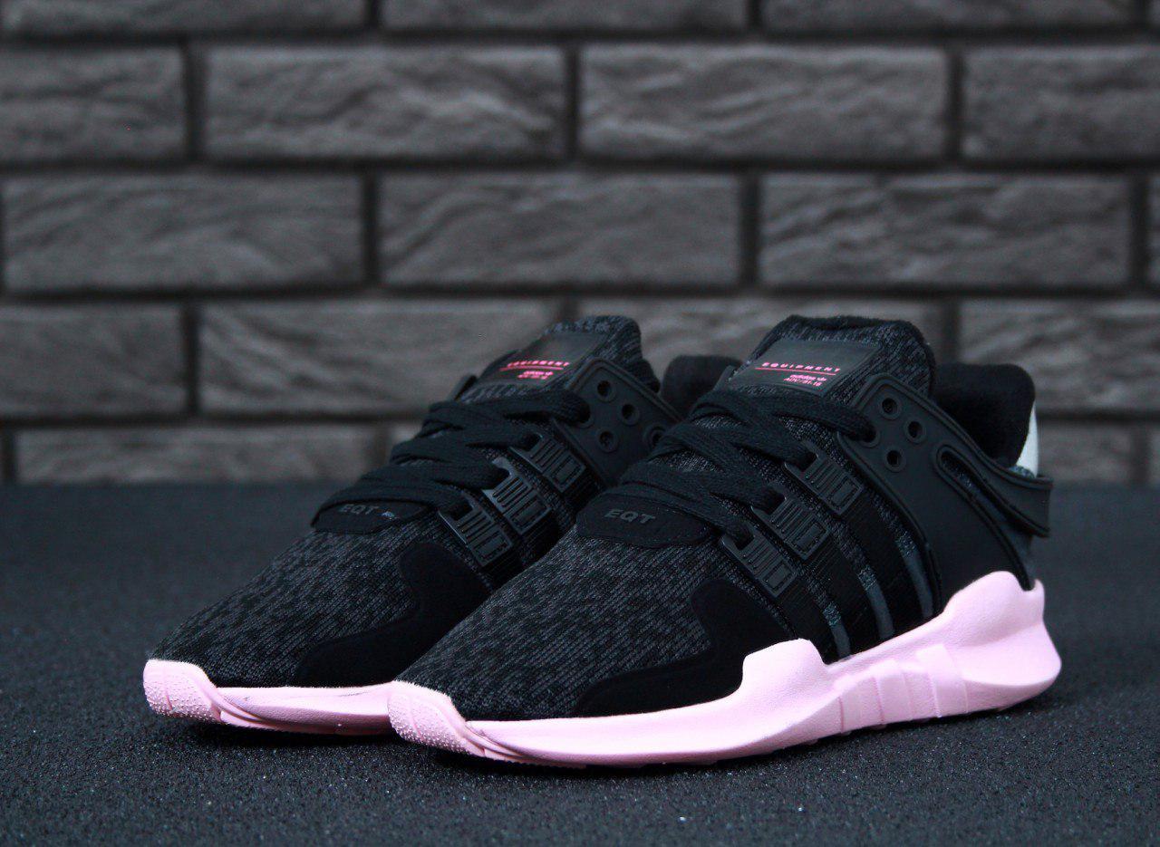 Кроссовки женские Adidas EQT 30647 черные