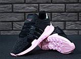 Кроссовки женские Adidas EQT 30647 черные, фото 8