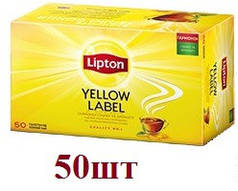 Чай Lipton Yellow Lable (черный) 50пак