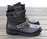 Осенние короткие ботинки на низком ходу Fabio Monelli, фото 1