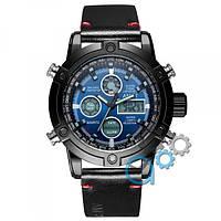 Наручные часы AMST 3022 Black-Blue Smooth Wristband
